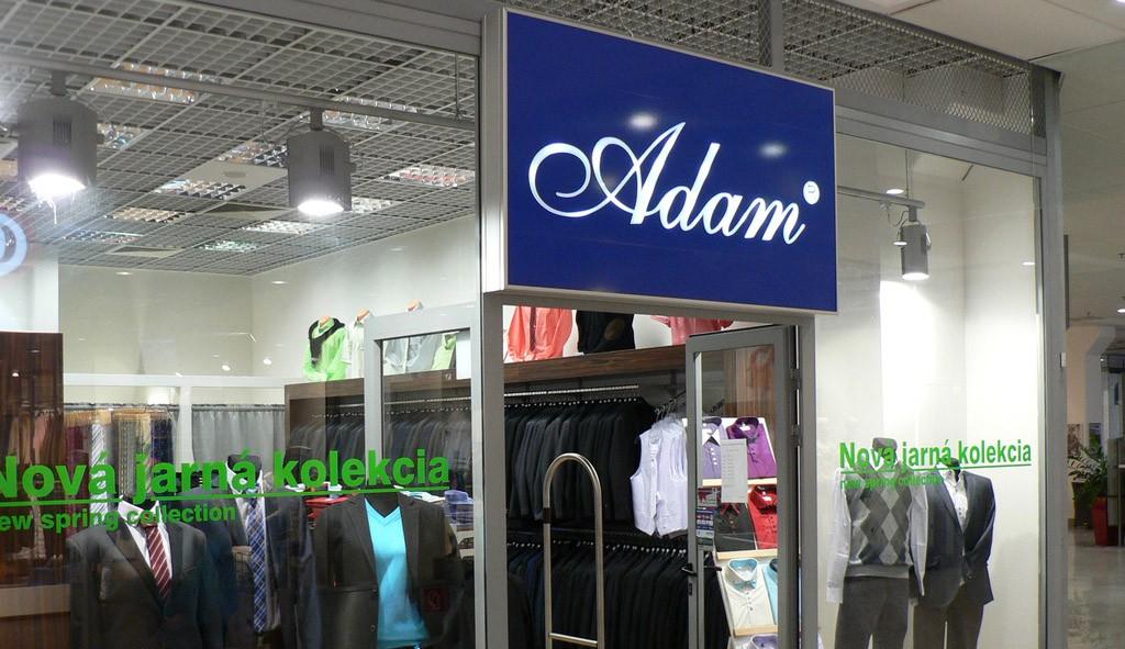 Svetelná reklama - ADAM, Europa SC Banská Bystrica