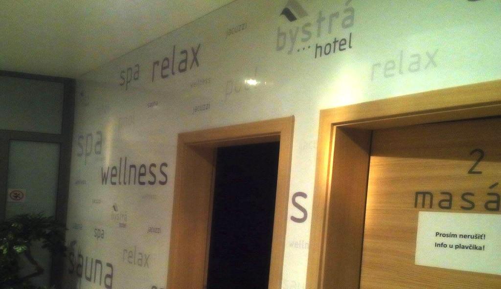 Reklamný polep - Wellness Hotel Bystrá***