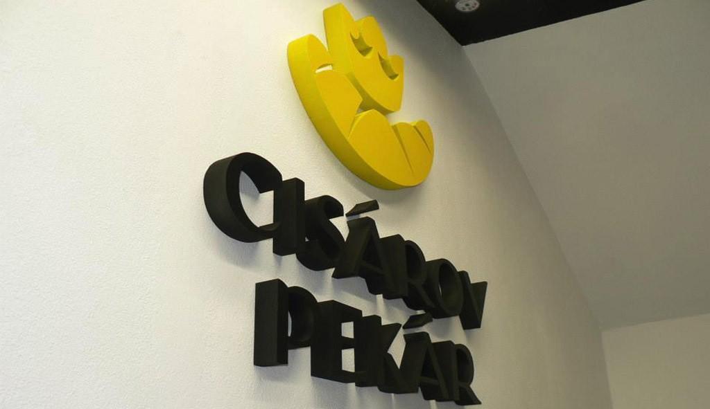 3D Logo - Cisarov pekar, OC Point Brezno